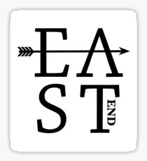 East End  Sticker
