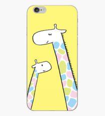 Giraffe family iPhone Case