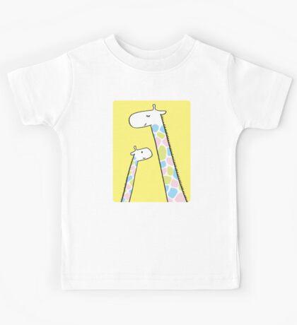 Giraffe family Kids Clothes