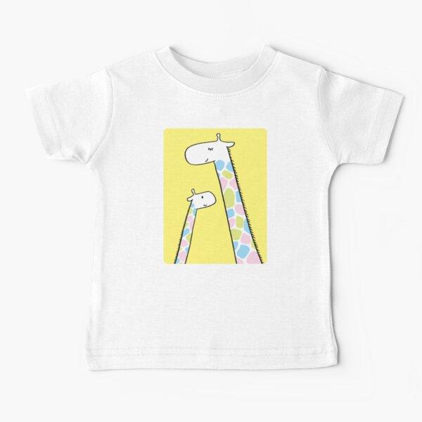Giraffe family Baby T-Shirt