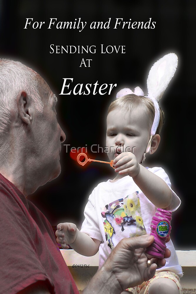 Happy Easter by Terri Chandler