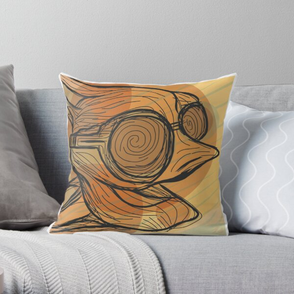 Approaching The Event Horizon Throw Pillow