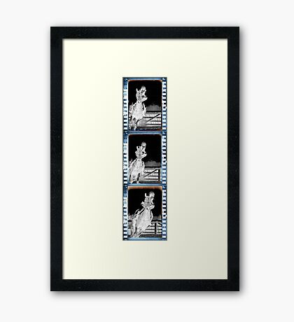 The Negative Side. Framed Print