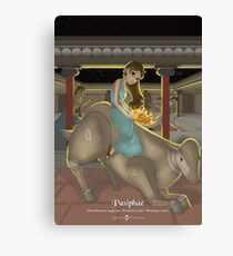 Pasiphae - Rejected Princesses Canvas Print