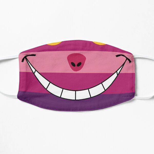 Cheshire Cat Funny Wonderland Colorful illustration Mask