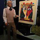 Pablo Picasso- escultura en cera. by cieloverde
