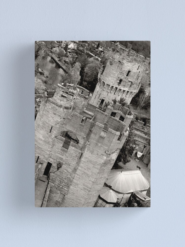 Alternate view of Warwick Castle Canvas Print