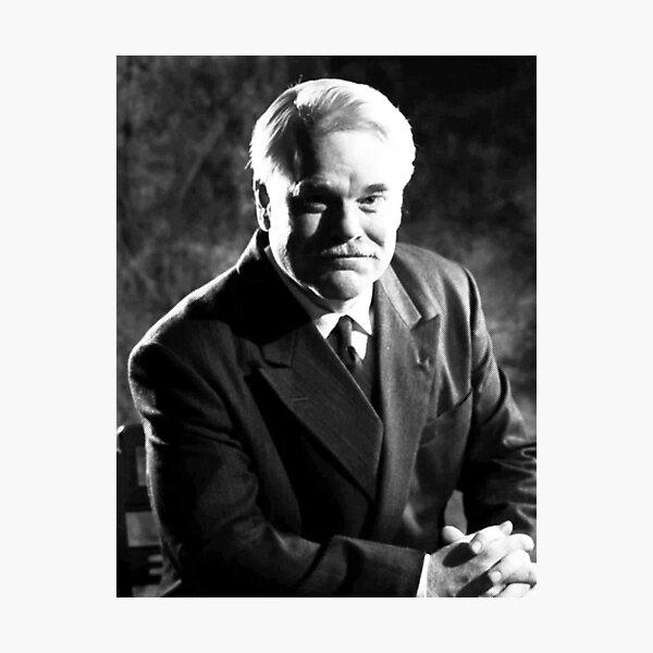 The Master Philip Seymour Hoffman Photographic Print
