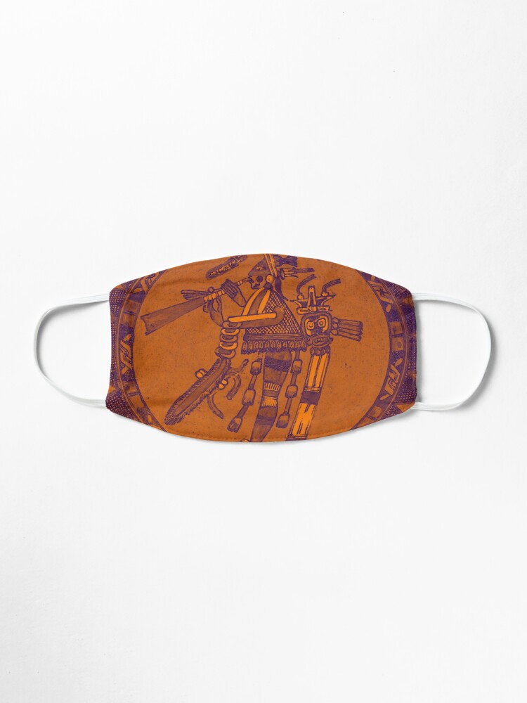 Alternate view of Mayan Artifact Art Mask