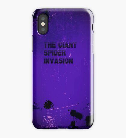 Giant Spider Invasion iphone case iPhone Case/Skin