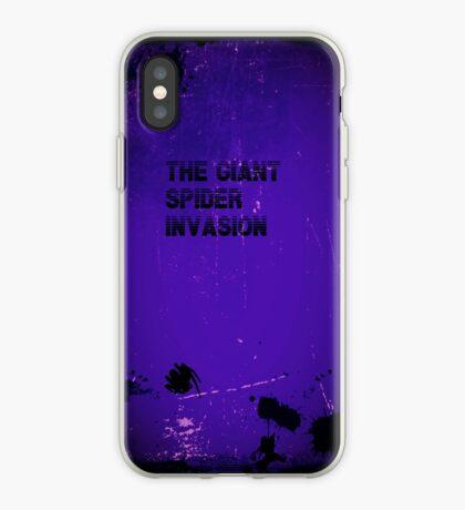 Giant Spider Invasion iphone case iPhone Case