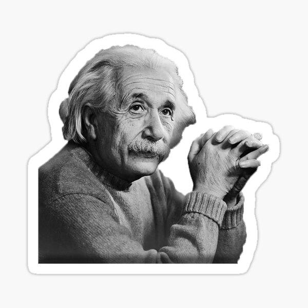 Einstein - Albert Einstein Pegatina