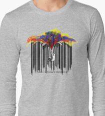 unzip the colour wave Long Sleeve T-Shirt