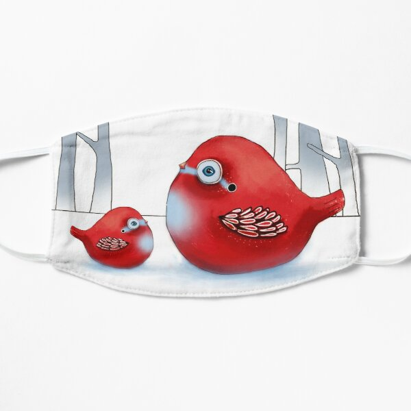 Little Red Robins Mask