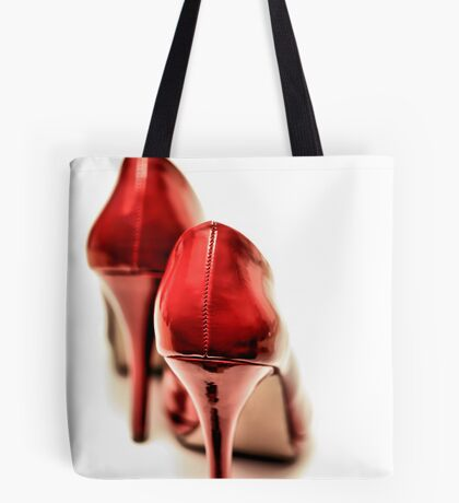 A little hesitation... Tote Bag