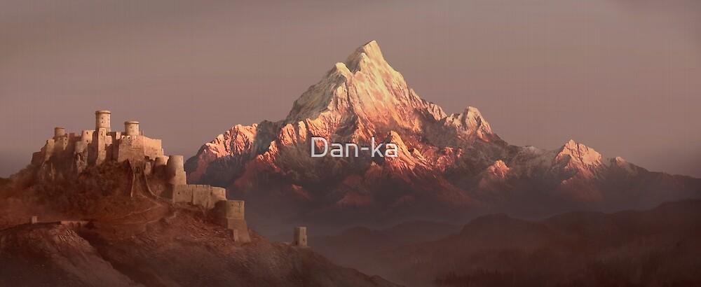 Ancient citadel by Daniele (Dan-ka) Montella