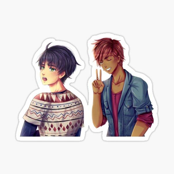 Illustration Clément and Evan Sticker