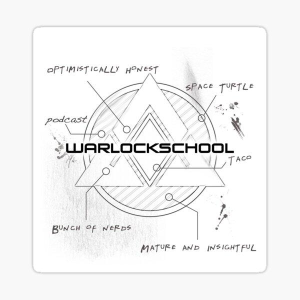 Warlock School classic Sticker