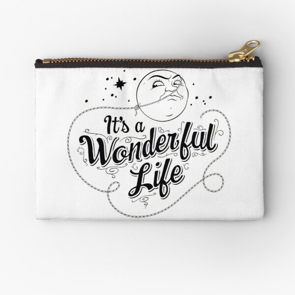 It's a Wonderful Life - Title Zipper Pouch
