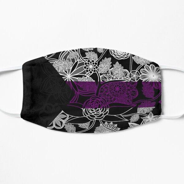 Flight Over Flowers of Fantasy - Demisexual Pride Flag Mask