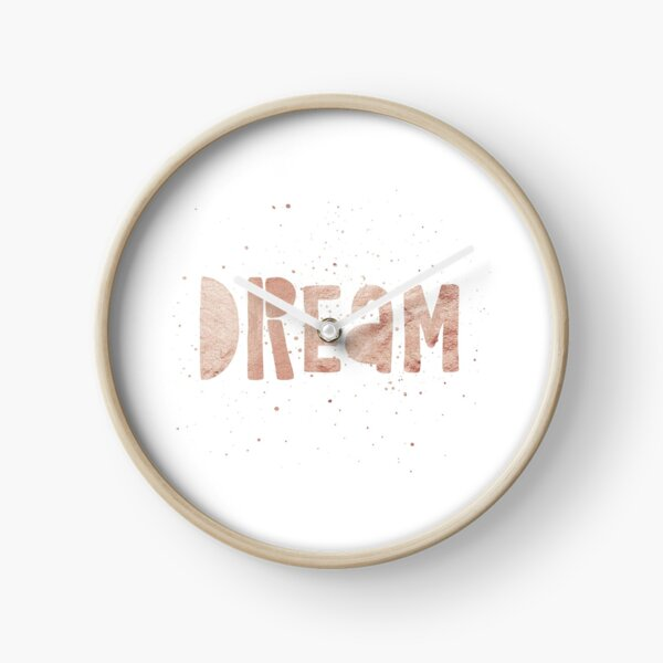 DREAM {shiny text} Clock