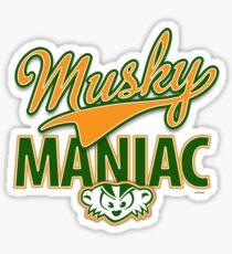 Musky Maniac Sticker