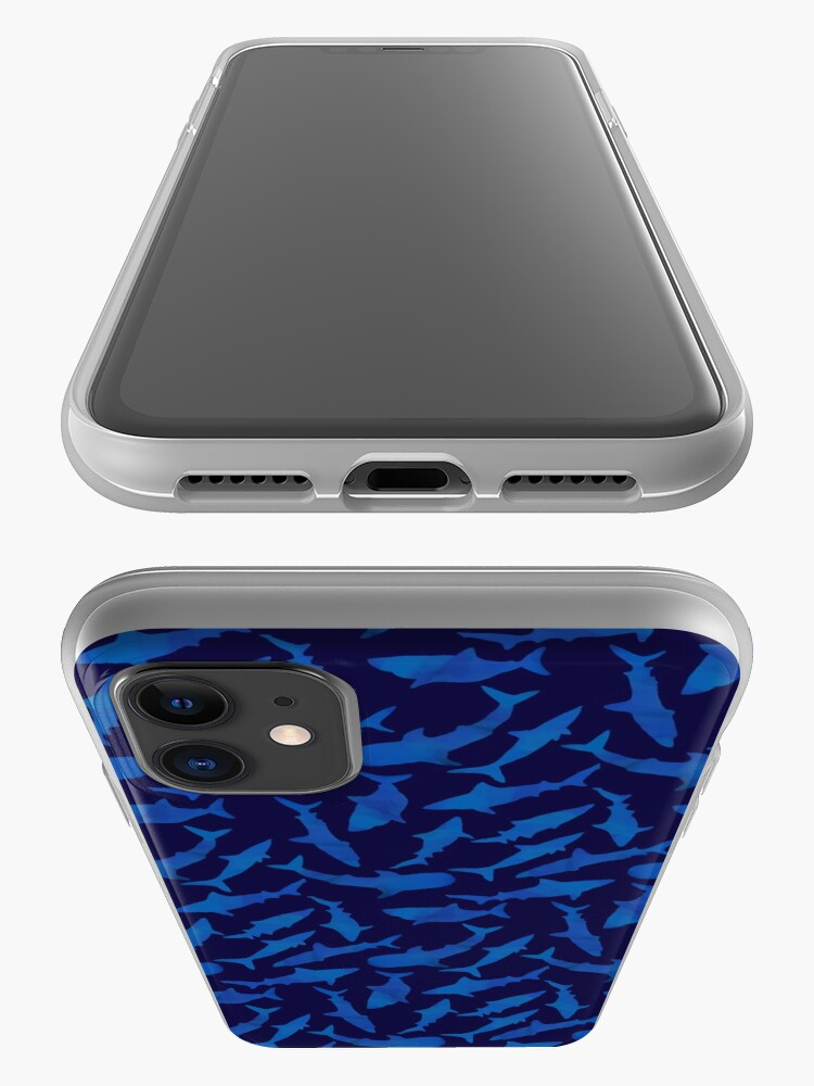 Alternate view of Seamless Sharks iPhone Case & Cover