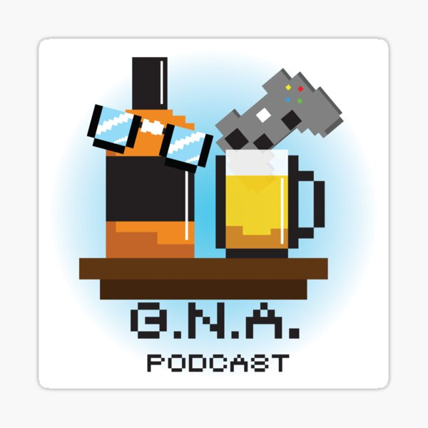 G.N.A. Podcast classic Sticker