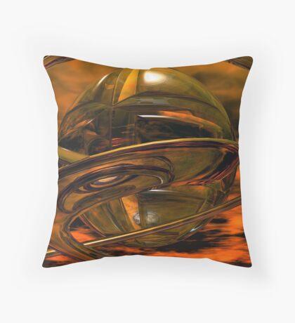 Caterpillar & Butterfly #1 Throw Pillow