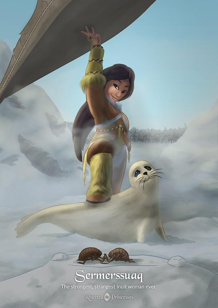 Sermerssuaq - Rejected Princesses by jasonporath
