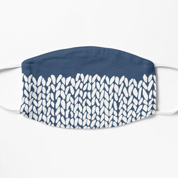 Half Knit Navy Small Mask