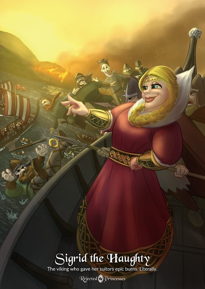 Sigrid the Haughty - Rejected Princesses by jasonporath