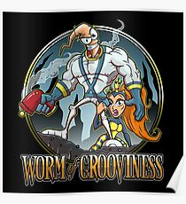 Worm of Grooviness Poster