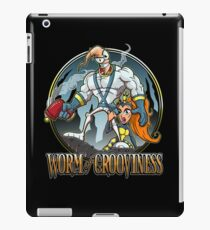 Worm of Grooviness iPad Case/Skin