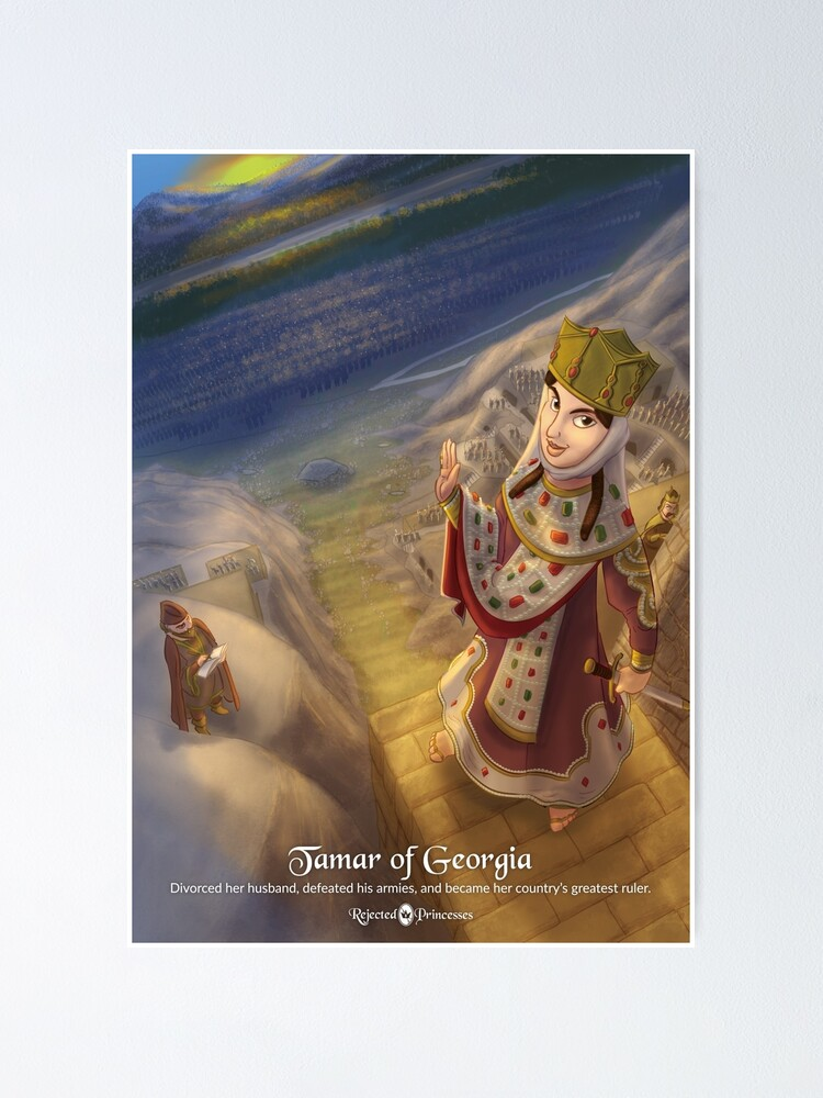 Alternate view of Tamar of Georgia - Rejected Princesses Poster