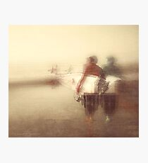 SOUL OF A BLACKS BEACH SURFER Photographic Print