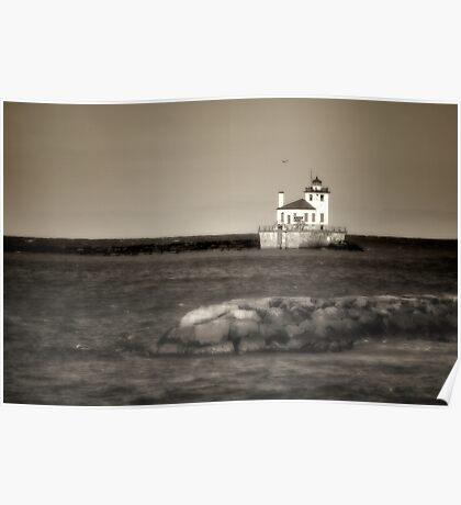 Oswego West Pierhead Lighthouse Poster