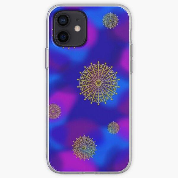 Golden Sky Symbols iPhone Soft Case
