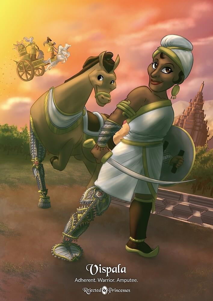 Vispala - Rejected Princesses by jasonporath