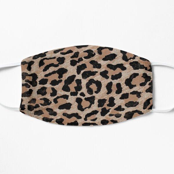 estampado leopardo guepardo Mascarilla plana