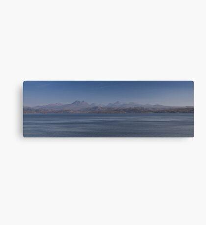 Slioch Panorama Canvas Print