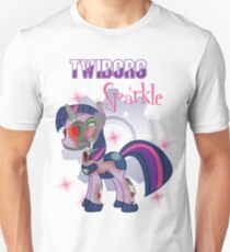 Twiborg Sparkle - Twilight Sparkle as a Cyborg - Revisited T-Shirt