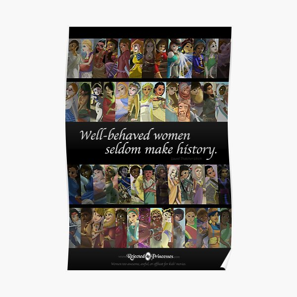 Rejected Princesses 1 Year Anniversary Poster Poster