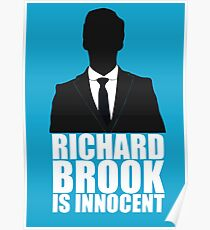 Richard Brook is Innocent Poster