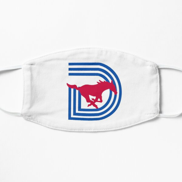 SMU Triple D Logo Mask