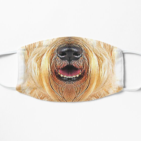 Soft Coated Wheaten Terrier SCWT Dog Lover Funny Face Pet Portrait Cute Puppy Animals Gifts Safe Face protection covering Men Women Mask