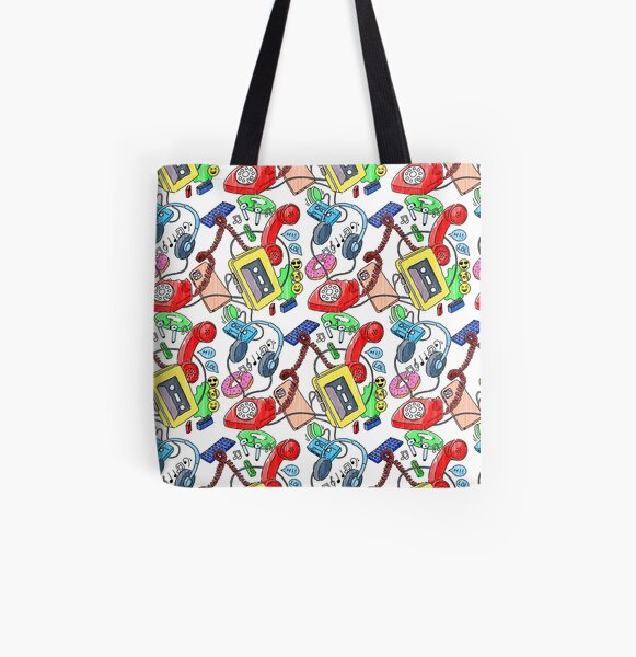 Dad & Dort's retro meets today All Over Print Tote Bag