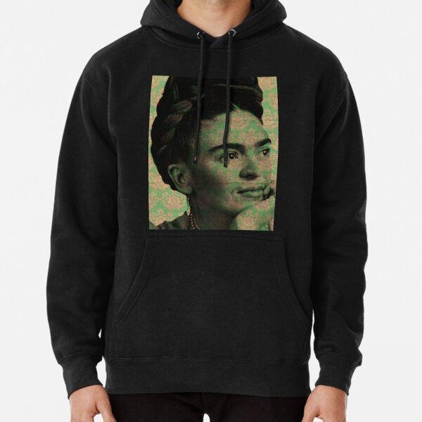Frida Kahlo verte Sweat à capuche épais