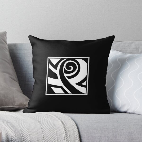 A Smiling Chappy Throw Pillow