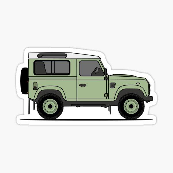 Land Rover Defender 90 HUE166 Sticker